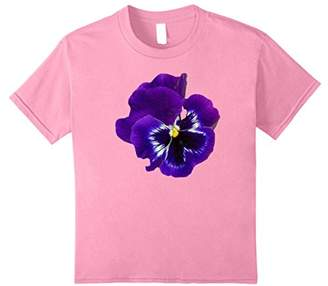 Giant Purple Pansy Shirt Remembrance February