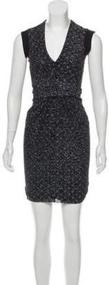 Vena Cava Ruched Printed Dress