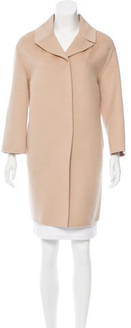 pradaPrada Virgin Wool-Blend Coat w/ Tags