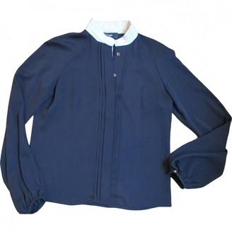Azzaro Blue Silk Top for Women