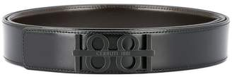 Cerruti logo plaque belt