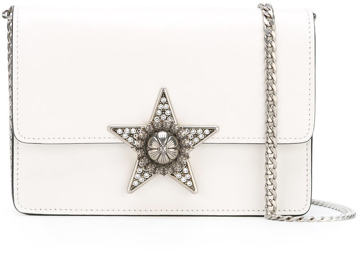 Miu MiuMiu Miu star embellished cross body bag