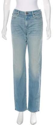 Simon Miller Mid-Rise Straight-Leg Jeans w/ Tags