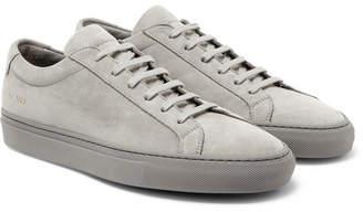 Common Projects Original Achilles Nubuck Sneakers - Men - Gray