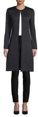 Calvin Klein Quilted Open Front Jacket