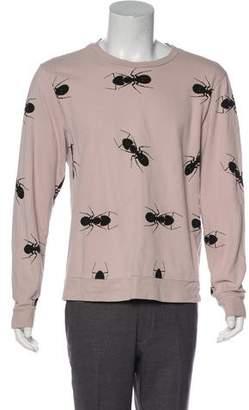Paul Smith Animal Print Pullover Sweatshirt