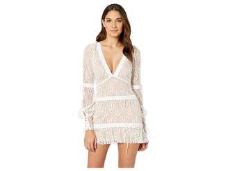 For Love & Lemons Bright Lights Long Sleeve Mini Dress
