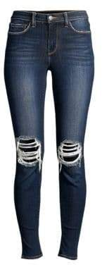 L'Agence Margot Skinny Distressed Jeans