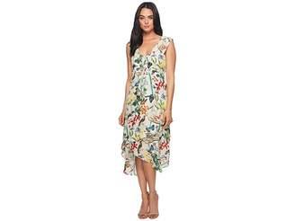 Nicole Miller High-Low Ruffle Dress Women's Dress