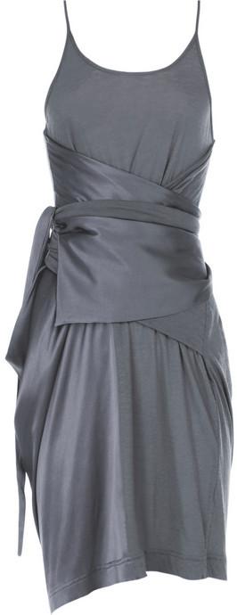 Preen Draped silk dress