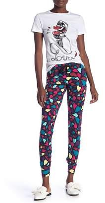 Love Moschino Pantalone Felpa Printed Leggings