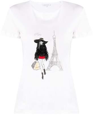 Patrizia Pepe (パトリツィア ペペ) - Patrizia Pepe Paris Tシャツ