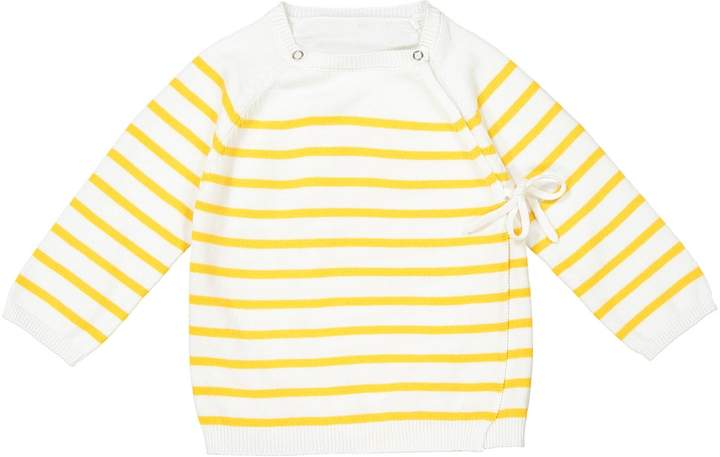La Redoute Collections Wrapover Top, Birth-2 Years