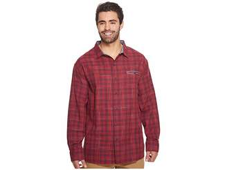 Tommy Bahama Big Tall Plaid Whiskey Shirt Men's Clothing