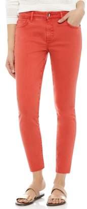 Sam Edelman The Kitten Raw Hem Skinny Jeans