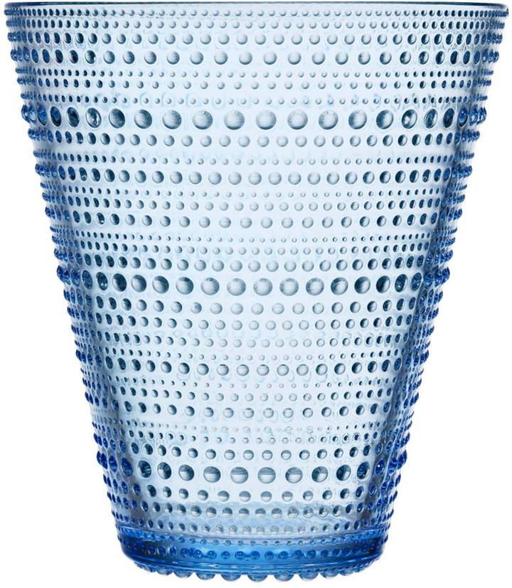 Kastehelmi Vase 154 mm, aqua