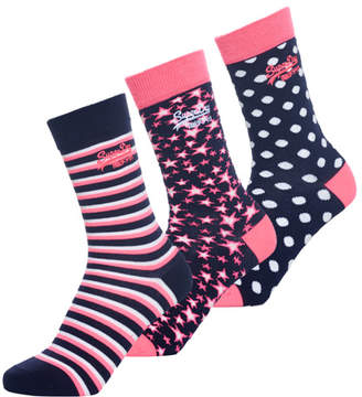 Superdry Star Socks Triple Pack
