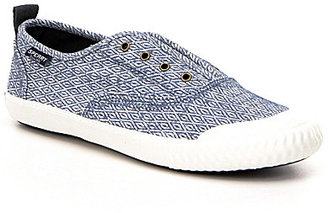 Paul Sperry Sayel Clew Diamond Print Slip-On Sneakers $59.99 thestylecure.com