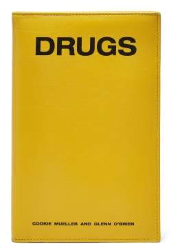 Raf Simons Drugs Book Style Leather Clutch - Womens - Yellow