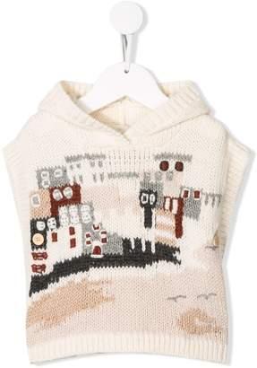 Bonpoint patterned knitted vest