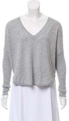 Alice + Olivia Wool V-Neck Sweater