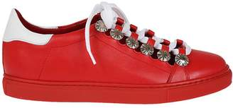 Toga Pulla Cut-out Embellished Sneakers