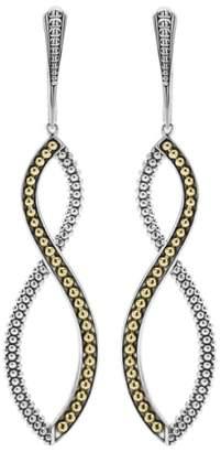 Lagos Infinity Twist Drop Earrings