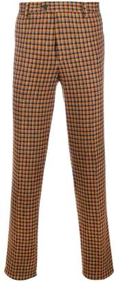 Missoni checked tailored trousers