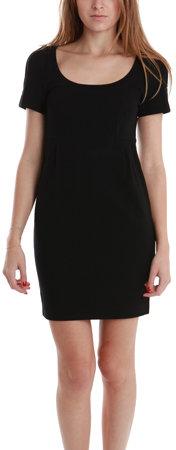 Diane von Furstenberg Linnie Knit Suiting Dress in Black-SPECIAL SHOPSTYLE PRICE