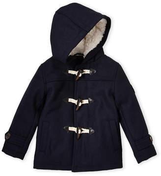 Ben Sherman Toddler Boys) Navy Toggle Hooded Coat