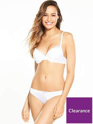 Wonderbra Modern Chic T-shirt Bra - White