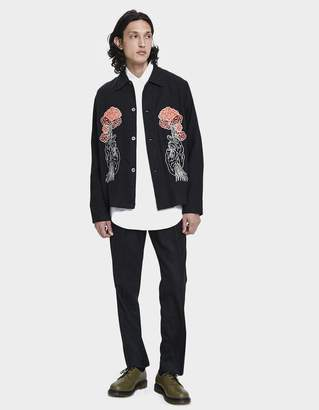 Our Legacy Box Button Up Shirt in Tree Embroidery
