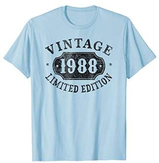 30 years old 30th B-day Birthday Gift 1988 Limited T-Shirt