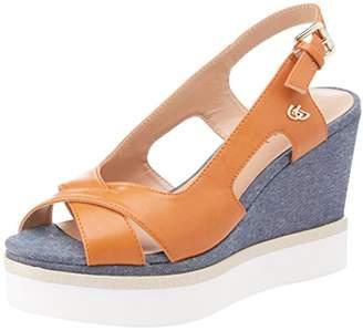 Byblos Women's Platform Daily Sling Back Sandals