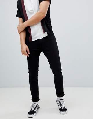 Wrangler Super Skinny Jeans Black