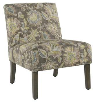 HomePop Carson Armless Accent Chair, Multiple Colors