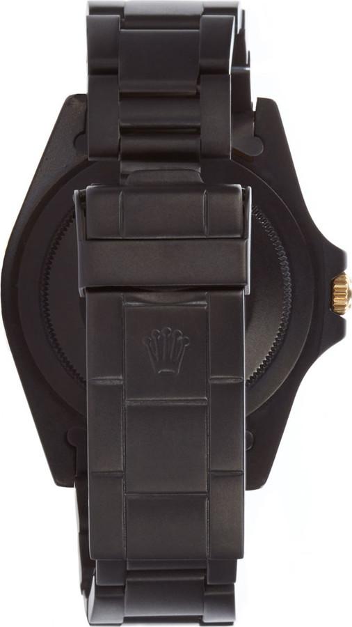 Black Limited Edition Matte Black & Gold Limited Edition Rolex GMT Master I 3