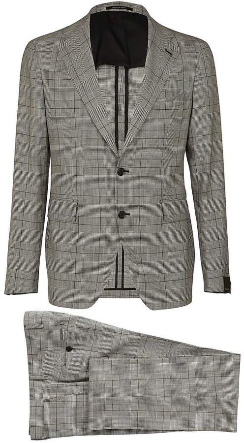 Check Two Piece Suit
