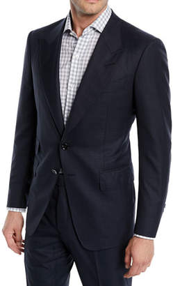 Tom Ford Men's Shelton Base Wool-Silk Two-Piece Suit
