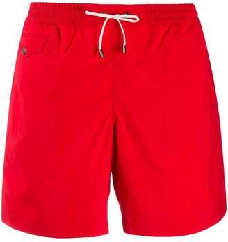 Brioni flap pocket swim shorts