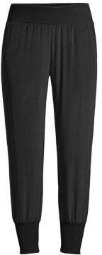 L'Agence Maddie Silk Crepe Joggers