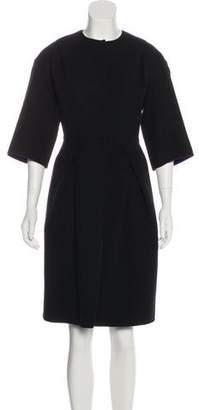 Christian Dior Virgin Wool Long Coat