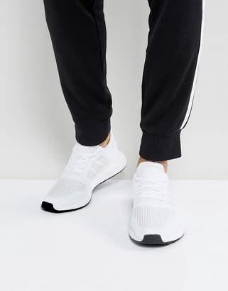 adidas Swift Run Sneakers In White CG4112