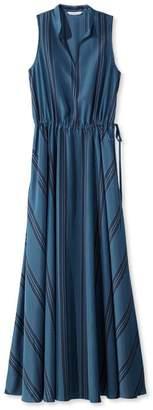 L.L. Bean L.L.Bean Signature Maxi Dress, Stripe
