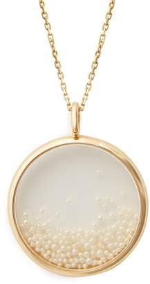 Aurelie Bidermann Fine Jewellery Fine Jewellery - Pearl & Yellow Gold Necklace - Womens - Pearl