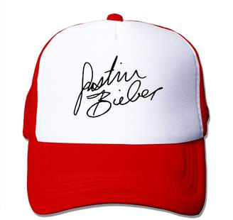 Justin Bieber Canan Cap Signature-01 Mesh Hat Trucker Baseball Cap (5 Colors)