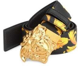 Versace Baroque Leather Belt