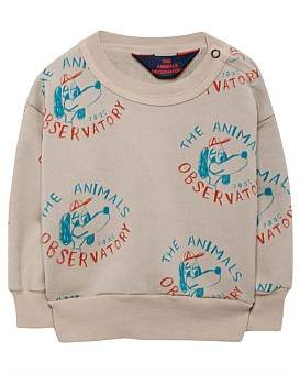 The Animals Observatory Bear Babies Sweatshirt(6-18 Months)