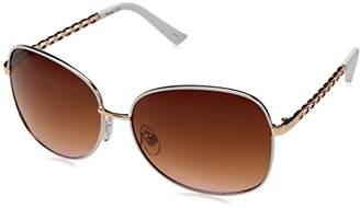 UNIONBAY Union Bay Women's U543 RGDWH Oval Sunglasses