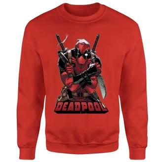 Marvel Deadpool Ready For Action Sweatshirt
